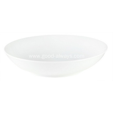 8-Inch ,20.3-cm White Porcelain coupe soup plate