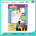 THE WIGGLES canvas coloring set