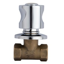 Factory directly provided for Brass Angle Valve Concealed 1/2 inch Angle Stop Valve supply to Russian Federation Manufacturer