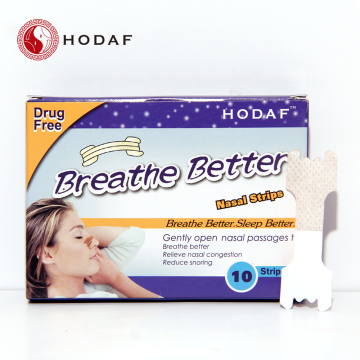 Breathe and Sleep Better nose strips