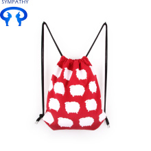 Good Quality for Cotton Fabric Bag Drawstring Custom lovely cotton canvas bag with backpack supply to Mali Manufacturer