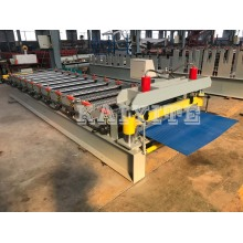 ODM for Corrugated Metal Sheet Machine Waterproof Corrugated Roof Sheet Roll Forming Machine export to Marshall Islands Factories