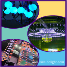 OEM for 3D Led Disco Ball Madrix compatible led curtain rgb pixel ball string supply to Poland Exporter