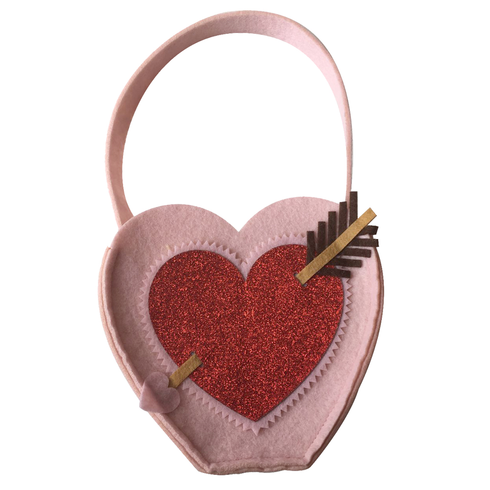 Valentine S Day Felt Candy Bag