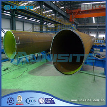 Hot sale reasonable price for Welded Steel Pipe Steel round longitudinal welded pipe export to Montenegro Manufacturer