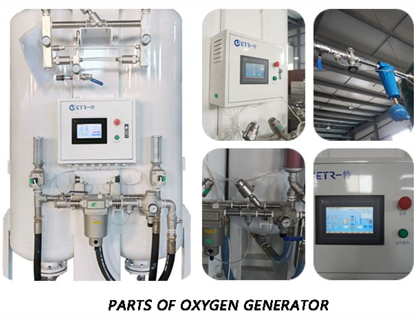 Containerized PSA Oxygen Generator All in One