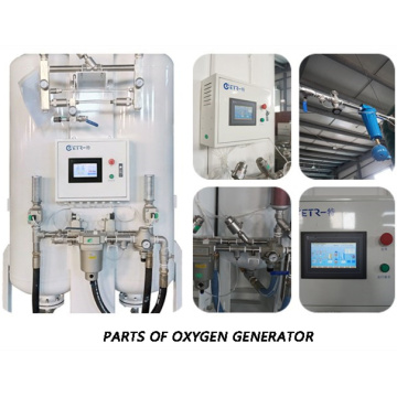 Onsite Oxygen Gas Plant for Hospital Pipelines