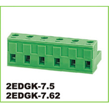 Green Pluggable Connector 10p Strip Terminal Block
