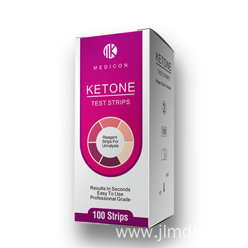 Home test ketone urine test strips