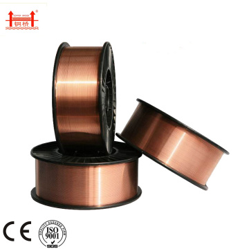 New Arrival China for Aws E70S-6 Welding Wire,70S-6 Welding Wire,Rutile Welding Rod Manufacturers and Suppliers in China 0.8mm 0.9mmMig Welding Wire Er70s-6 supply to Portugal Factory