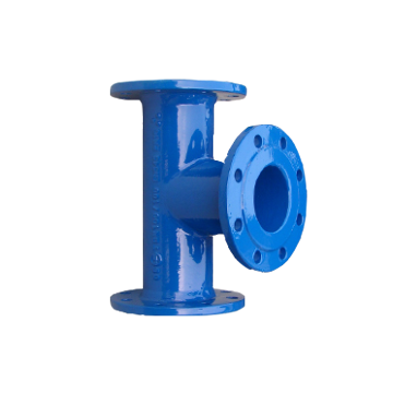 Ductile iron all flange  tee