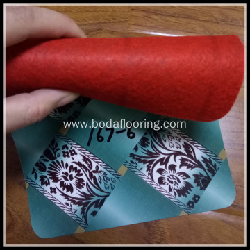 Red Backing Indoor PVC Roll Flooring
