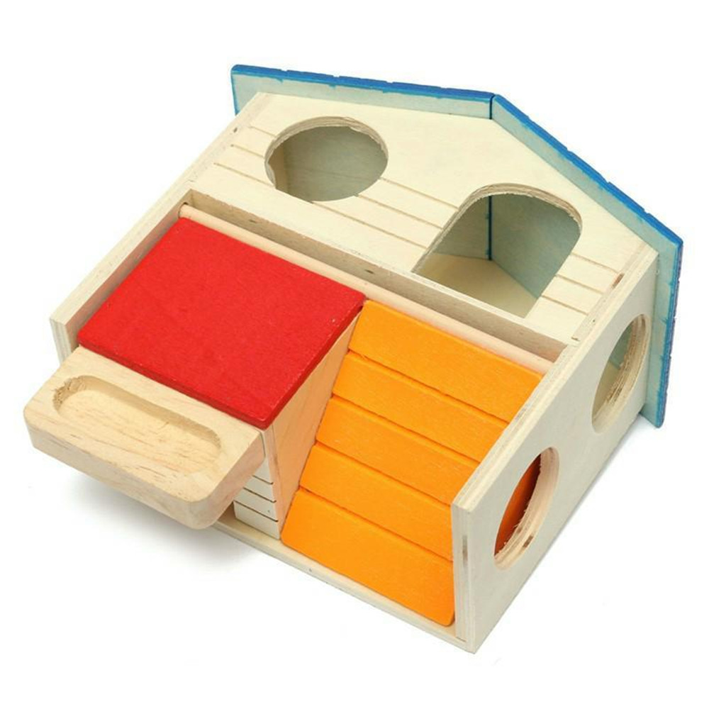 hot selling wooden mouse house