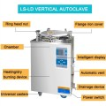 Digital diaplay 100L best steam sterilizer