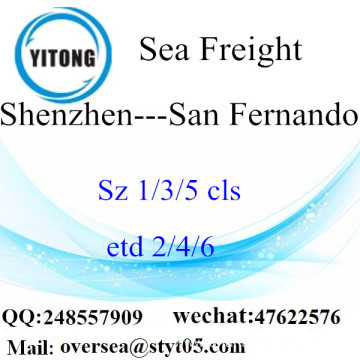 Shenzhen Port LCL Consolidation To San Fernando