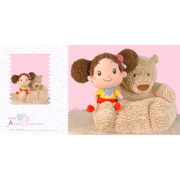 Children's Plush Bear Cushion