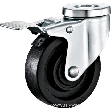 3'' Bolt Hole High Temperature Caster With Brake
