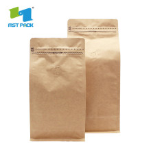 Side Gusset One Way Valve Ziplock Coffee Packaging