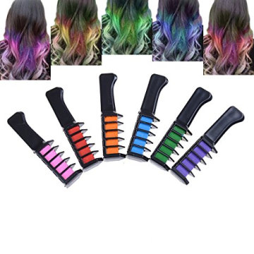 Non-Toxic Bright Color Hair Chalk for Dark Hair