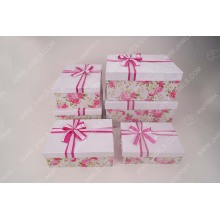 High Quality Pink Bowknot Paper Shoe Box