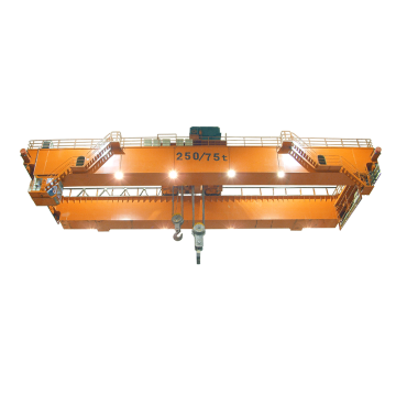 Electric Trolley Traveling 5ton Double Girder Overhead Crane