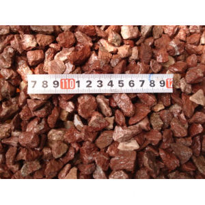 Popular Natural Red Gravel Pebble Stone10-30mm