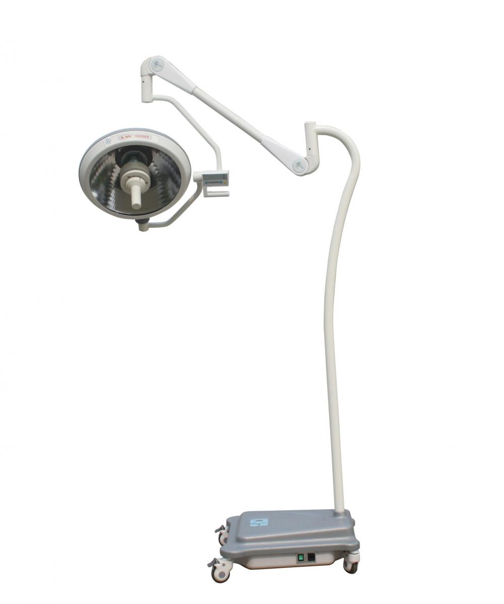 Floor Stand Portable Animal Halogen Surgical Light