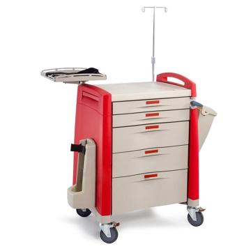 Rotary tray ABS anesthesia cart