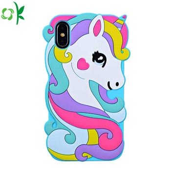Popular Unicorn Beauty Silicone Phone Case for Iphone
