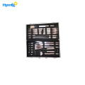 With 24 Barbecue Aluminum  Grill Tools Set