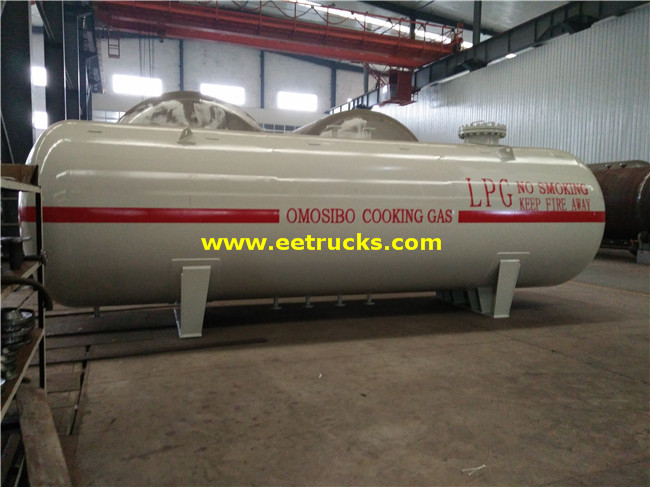 8000 Gallons 12MT Propylene Gas Bullet Tanks