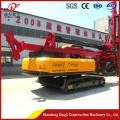Lowest price crawler screw pile hydraulic pile driver