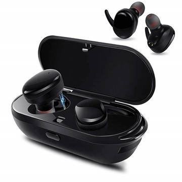Fone de ouvido Bluetooth V5.0 True Wireless Stereo Earbuds