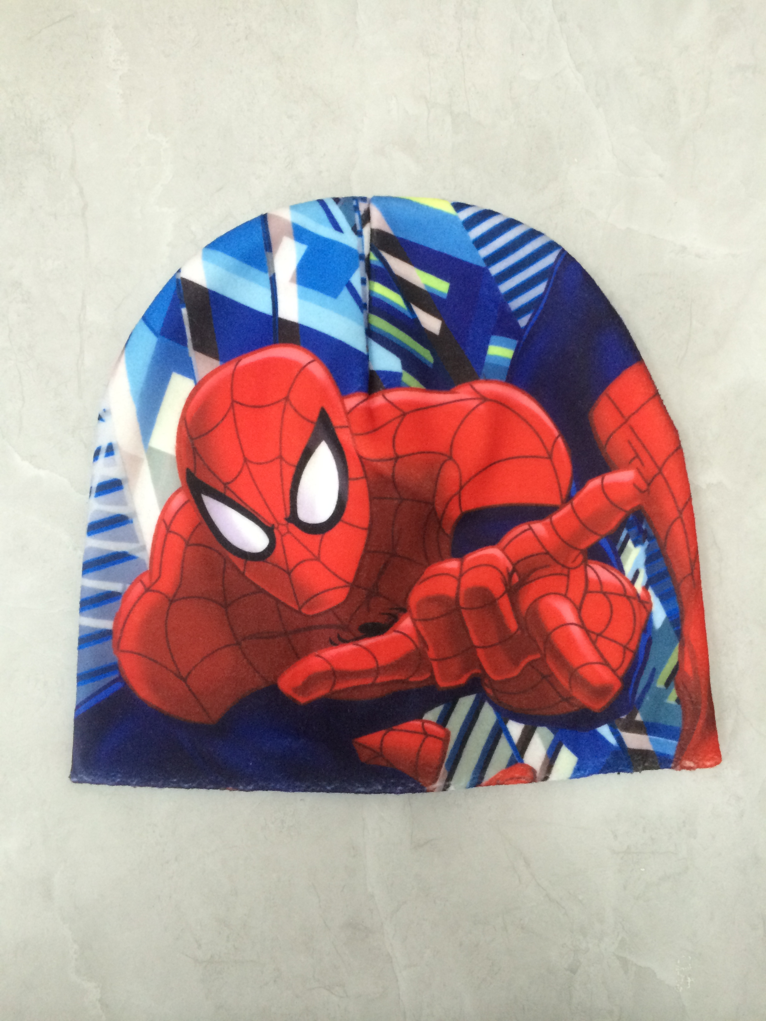 Sublimation Printing Winter Hat Spiderman
