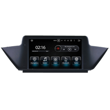 BMW X1 E84 no traço DVD Player