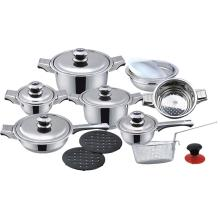 Elegant look 18pcs cookware set