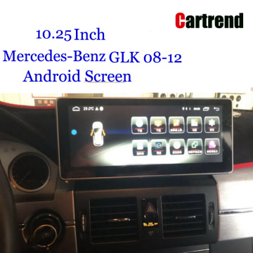 GLK Android Wide Touch Screen para Benz