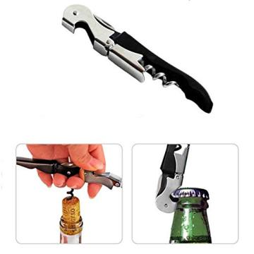 Premium All-In-One Waiters Corkscrew Bottle Opener For Beer
