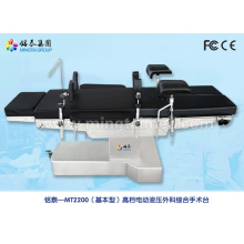 Electric operating table for comprehensive operation