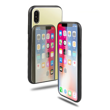 Hard-Rigid Tempered Glass Cover Case for iPhone X