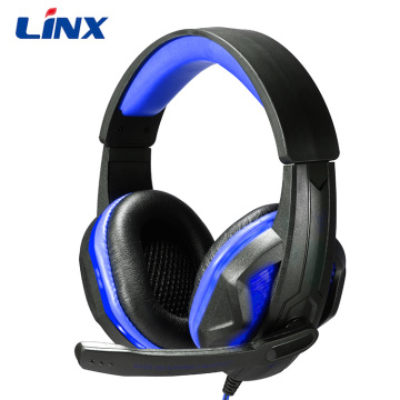 Atacado gaming headphone gamer headphones com microfone