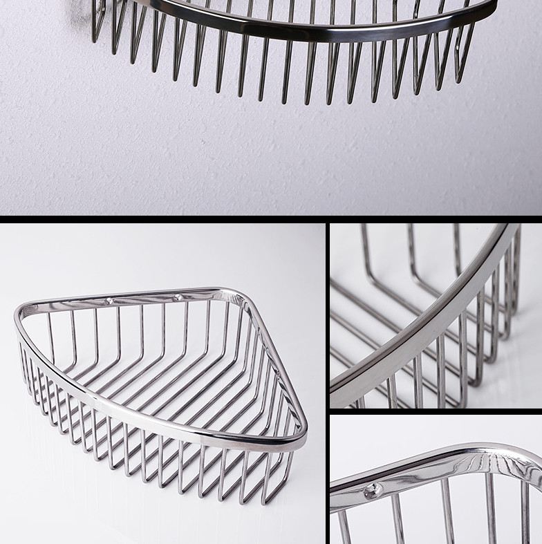 Stainless Steel Corner Basket