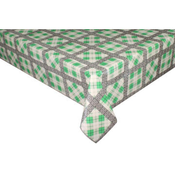 Elegant Tablecloth with Non woven backing Decoration