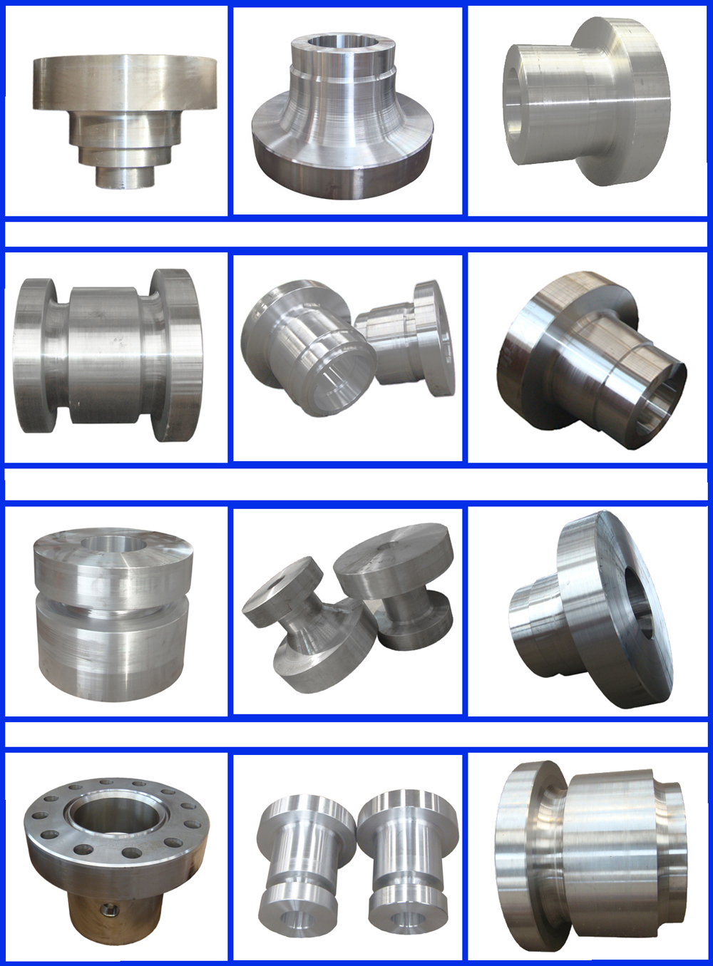 Forged Alloy Steel Bearing Pedestal