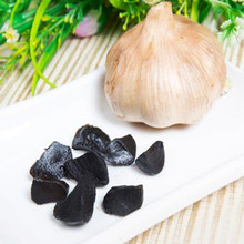Peeled Black Garlic From Black Garlic Machine