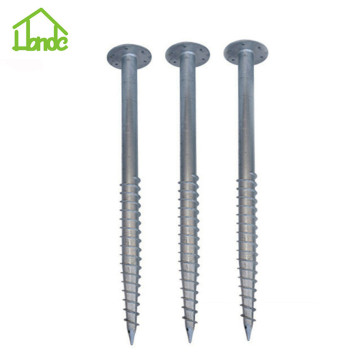 Q235 Galvanized ground screw
