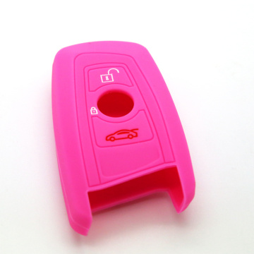 Silicone BMW key fob cover shell holder