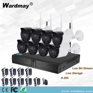 8CH 720P Wireless Wifi Camera Security Surveillance System