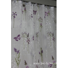 Waterproof Bathroom printed Shower Curtain Sizes