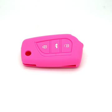 Customized for Toyota Silicone Key Fob Cover Toyota Corolla silicon car key cover shell supply to United States Exporter